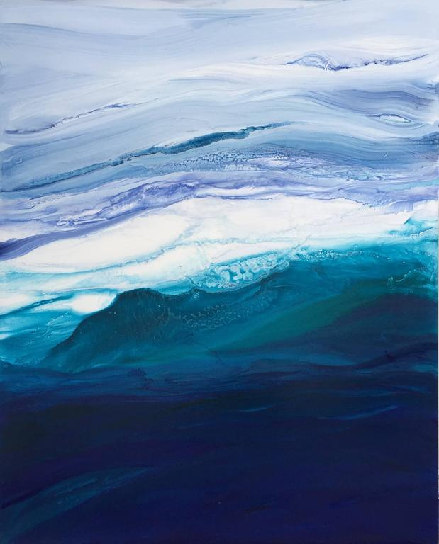 Teodora Guererra Abstract Painting - Saltwater