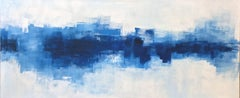 'Electra', Contemporary Abstract Minimalist Acrylic Painting