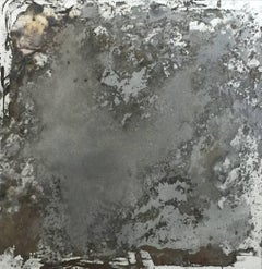 'Cosmos', Small Mixed Media Mirror Painting