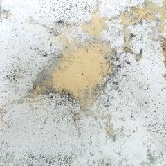 'Splash', Small Mixed Media Abstract Mirror Painting