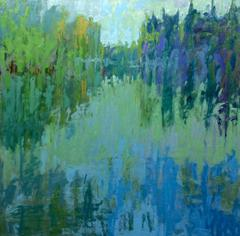 Reflecting Blues and Greens