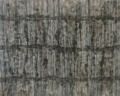 'Misoure Mizuumi', Black and White Abstract minimalist Japanese painting
