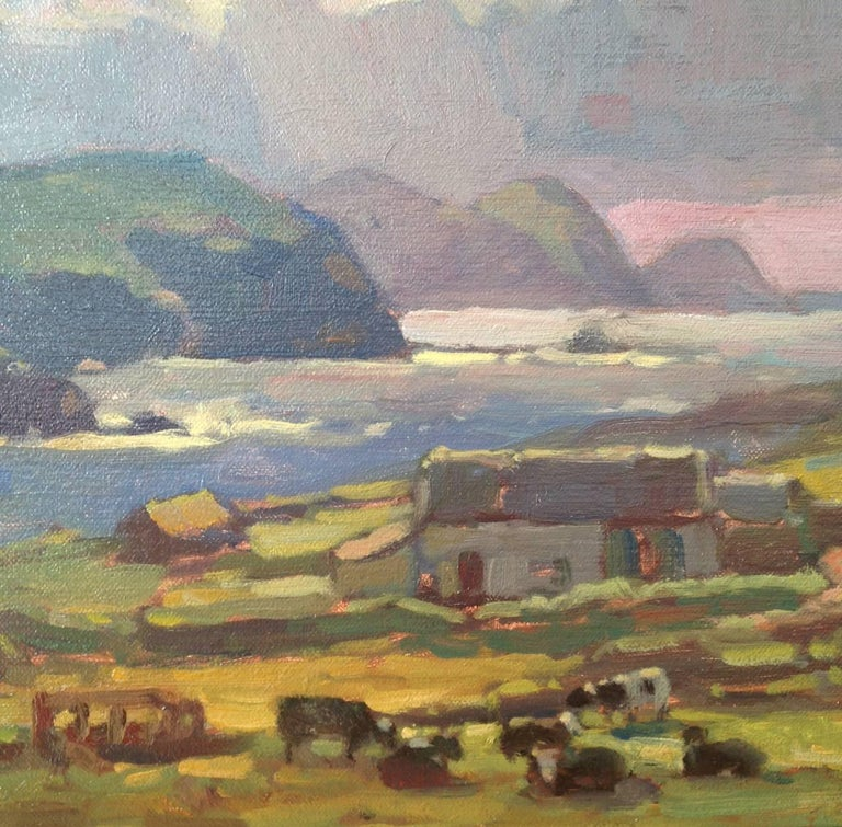 John Traynor Dingle Ireland Painting For Sale At 1stdibs
