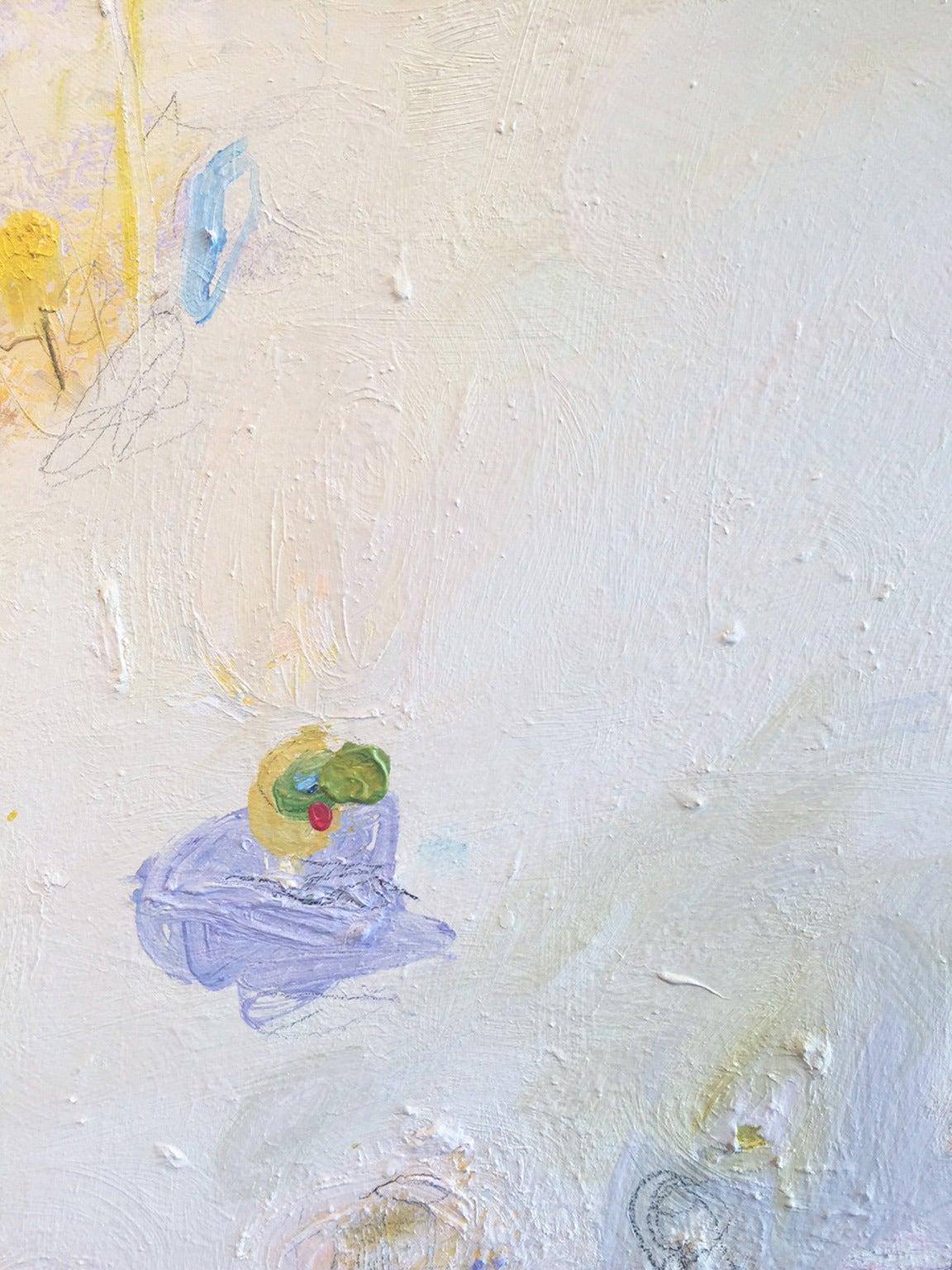 Santa Fe Reflection No.4 - Painting by David Miller