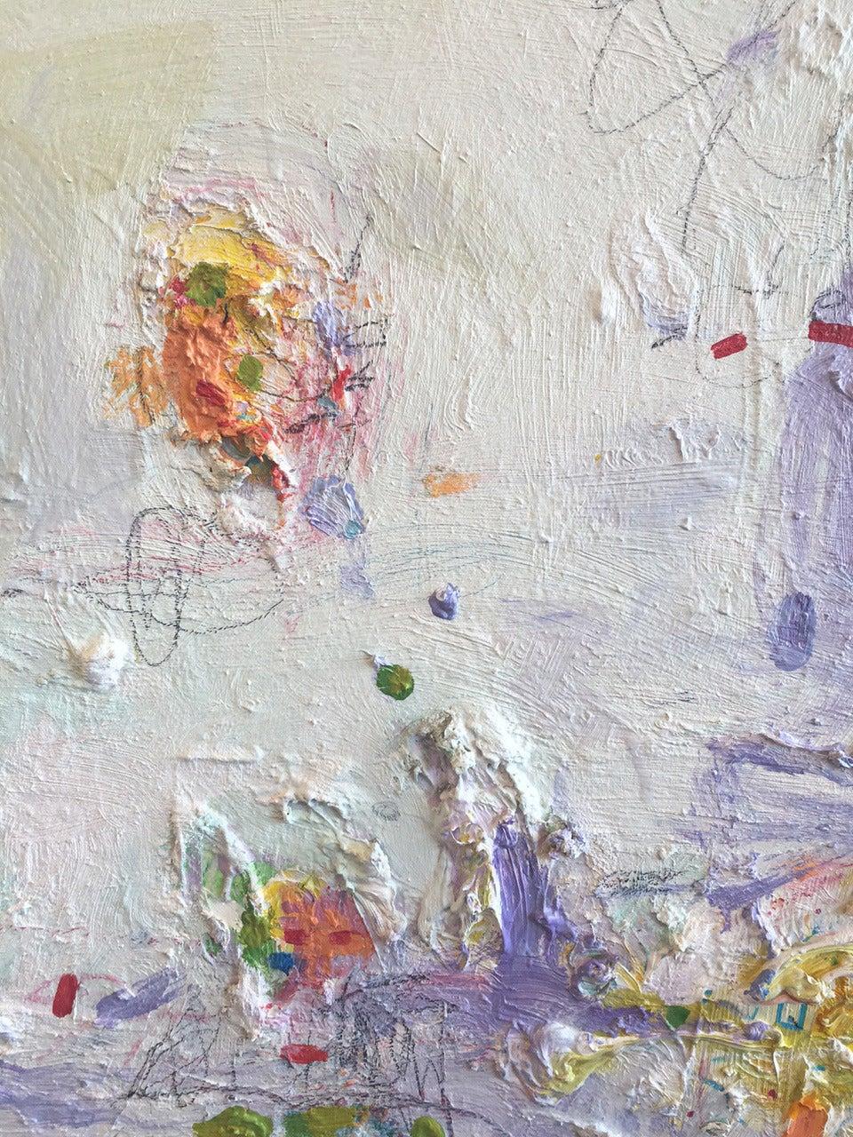 Santa Fe Reflection No.4 - Abstract Painting by David Miller