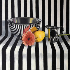 Pinstripes and Posies