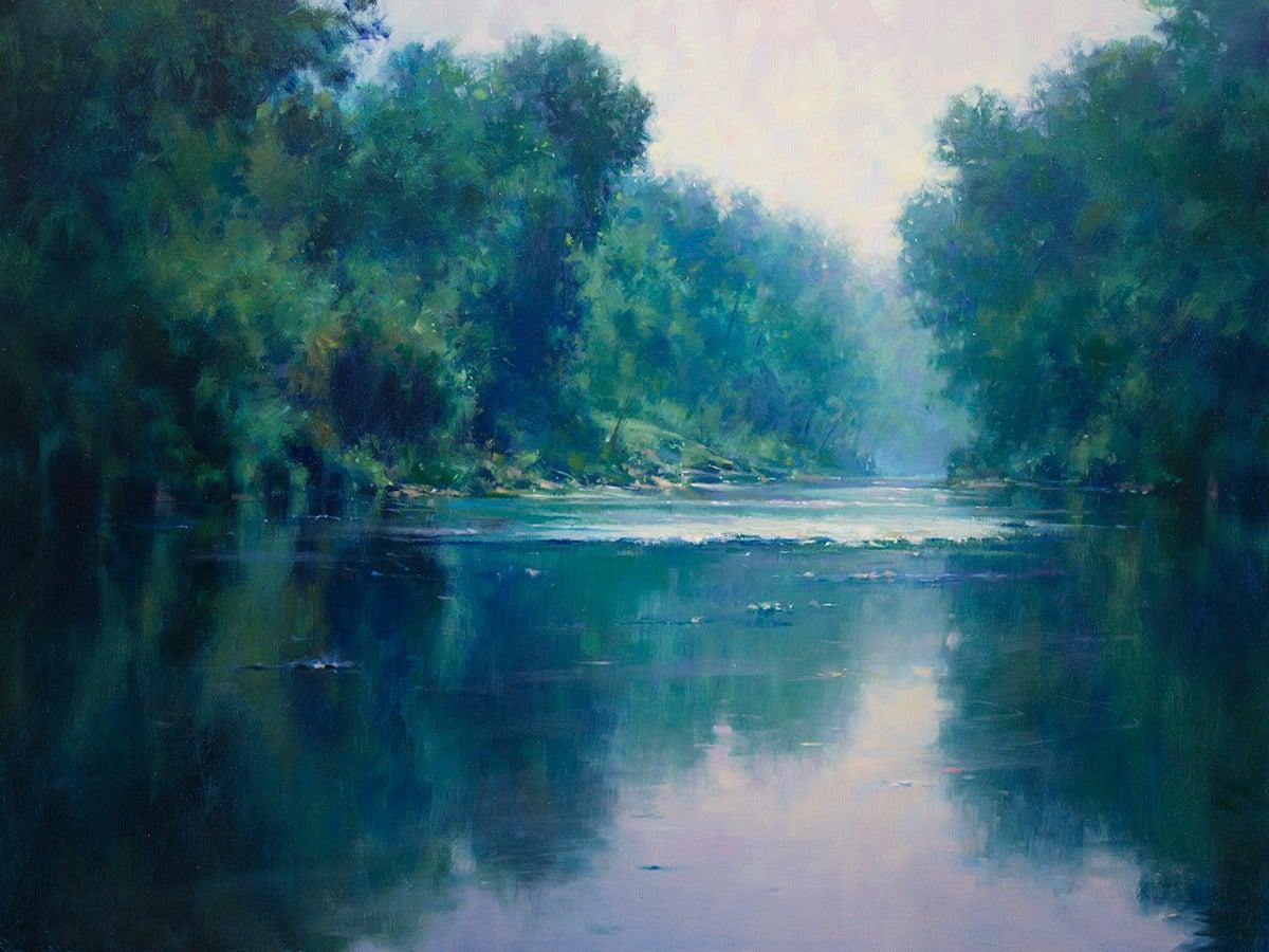 John Macdonald River Mist Painting At 1stdibs