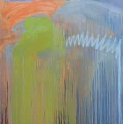 'Let's Dance', Large Contemporary Abstract Minimalist Acrylic Painting