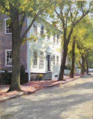 Main Street, Nantucket - Spring Light