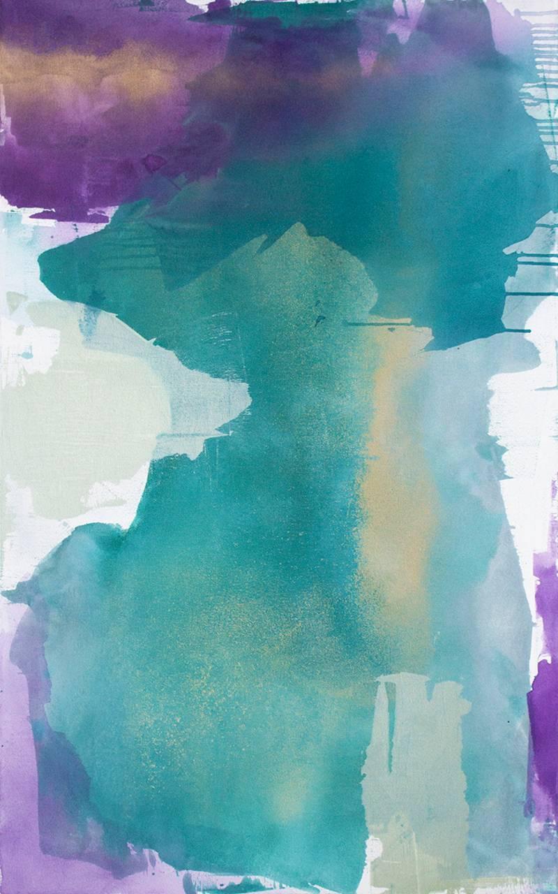 """""""Royal Vogue No. 1,"""" Abstract Painting"""