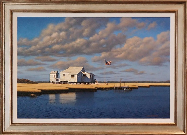 The Smith's Bay House - Painting by Daniel Pollera