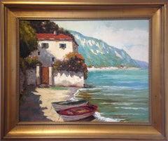 Villa and Boats at Tuscan Shore