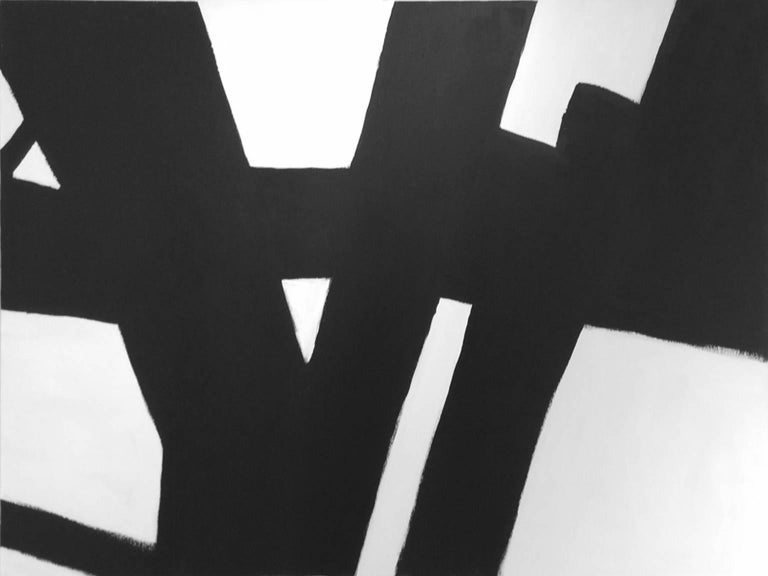Black and white, minimal, abstract, contemporary, lines  Kathi Blinn has always been an artist. In her younger days she painted bold, abstract art, then went on to the responsible years and made a living as a graphic artist. For many years, Kathi