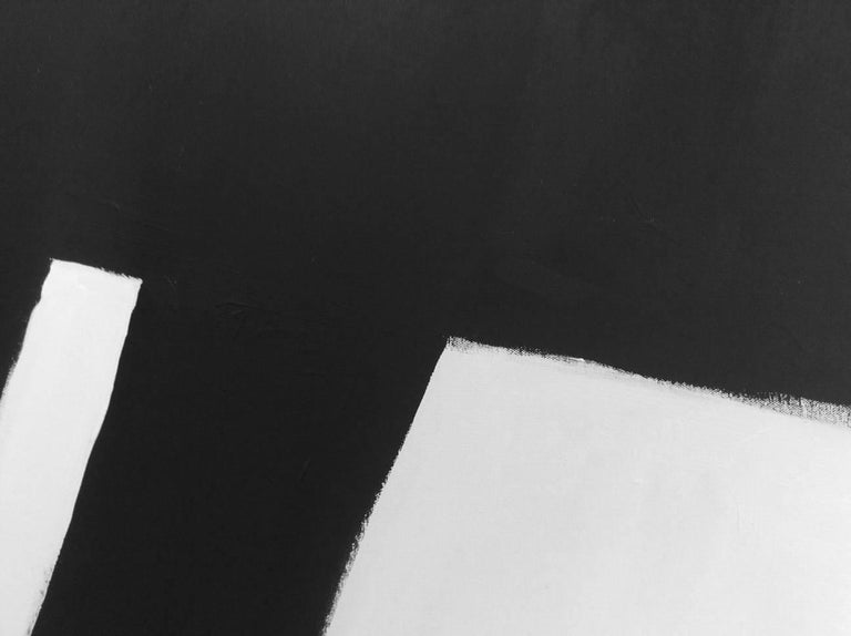 'Whole Lotta Sling', Black and White Abstract Painting For Sale 1