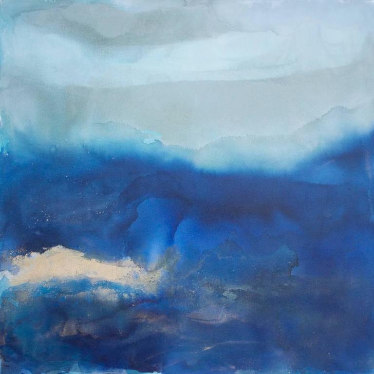 Julia contacessi ebbing tide painting at 1stdibs for Moderne landschaftsbilder