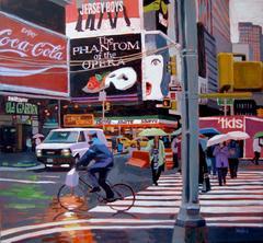 Times Square Umbrellas