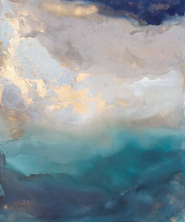 Julia Contacessi Abstract Painting - Saint Helena