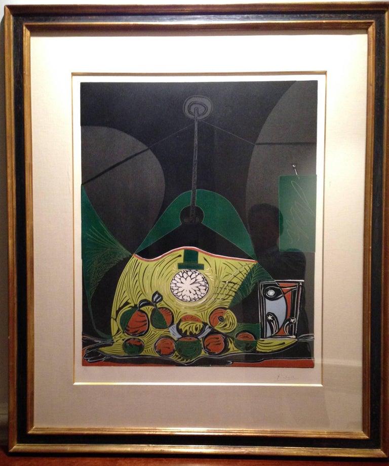 Pablo Picasso - Nature Morte Sous La Lampe, Print For Sale at 1stdibs
