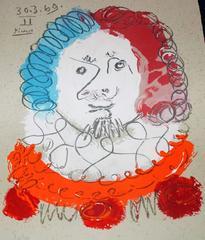 30.3.69 II, from Portraits Imaginaires