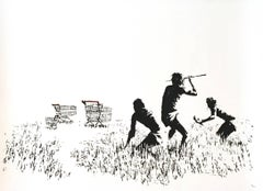 Trolleys (black & white)