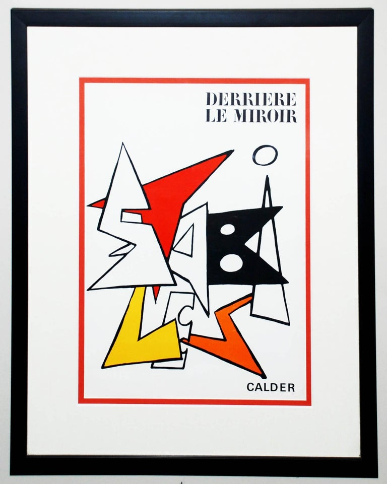 Alexander calder cover of derriere le miroir 141 for Alexander calder derriere le miroir