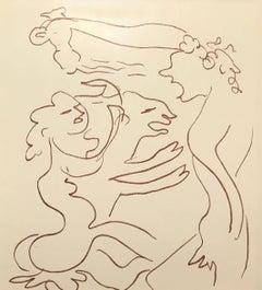 Plate LXX, from Florilege des Amours de Ronsard
