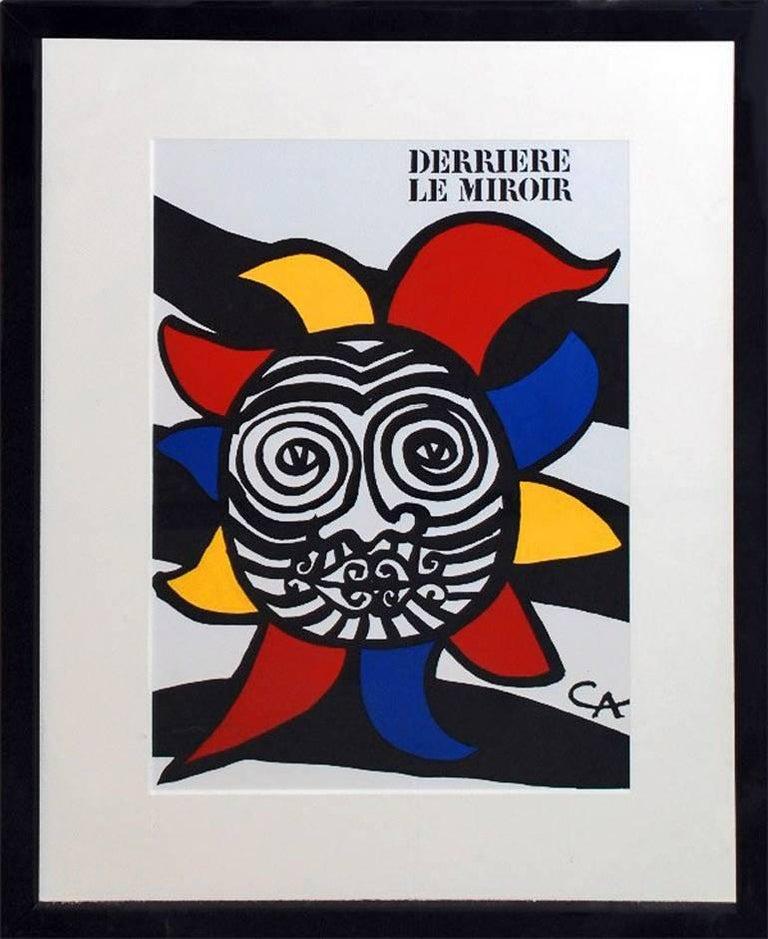 Alexander calder cover from derriere le miroir 156 for Calder derriere le miroir