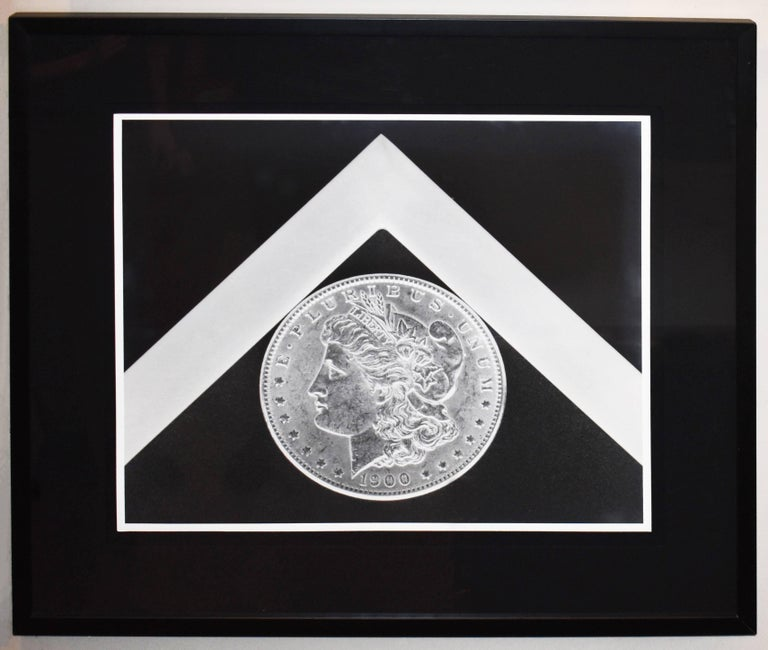 Silver Dollar - Black & White - Print by Robert Mapplethorpe