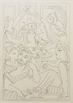 Pablo Picasso - Le Banquet, from Lysistrata
