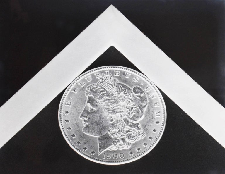 Robert Mapplethorpe Abstract Print - Silver Dollar - Black & White