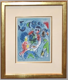 Lithograph from Chagall Lithographe Vol III