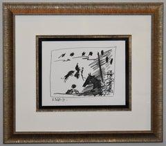 Jeu de la Cape (III), from A Los Toros Avec Picasso