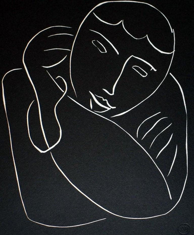 Pasiphae Plate 54 - Print by Henri Matisse