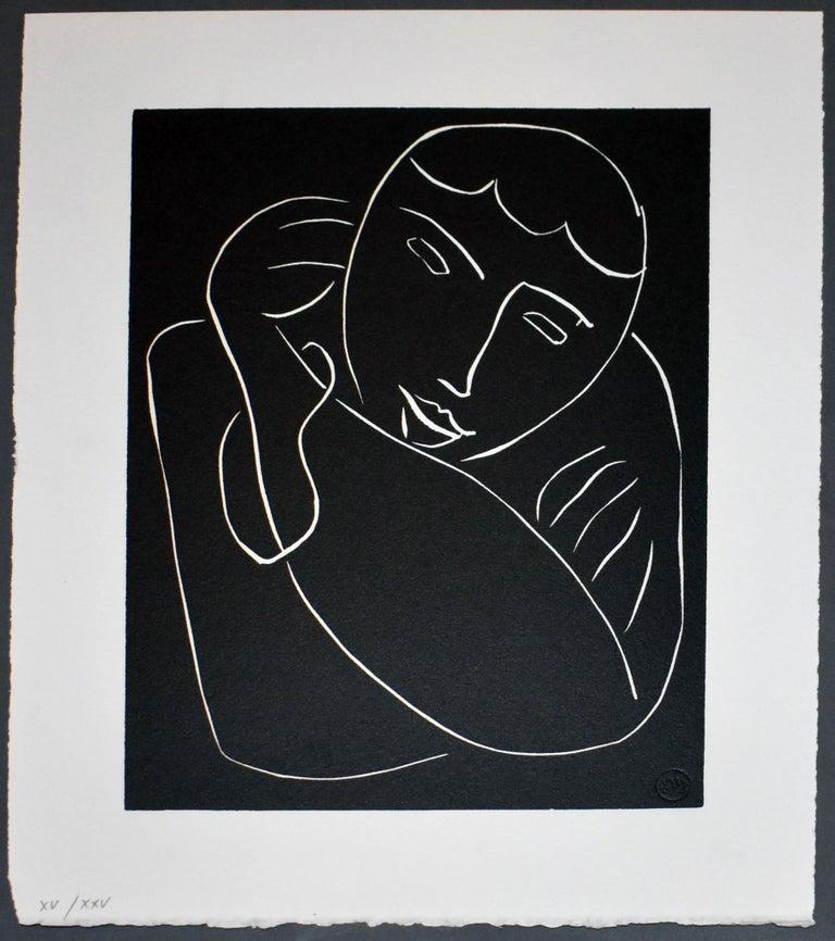 Henri Matisse Portrait Print - Pasiphae Plate 54