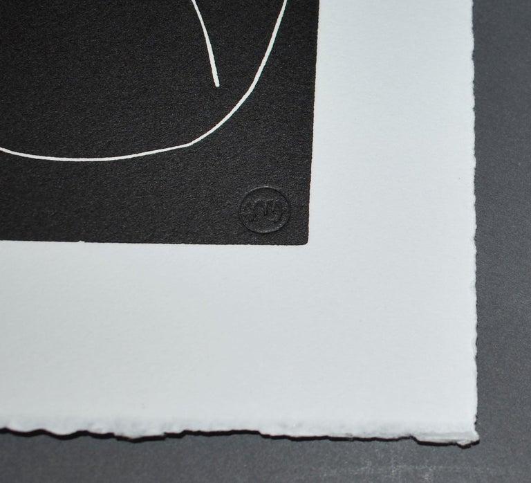 Pasiphae Plate 54 - Black Portrait Print by Henri Matisse
