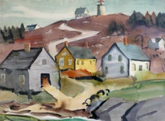 Road to the Lighthouse (Monhegan)