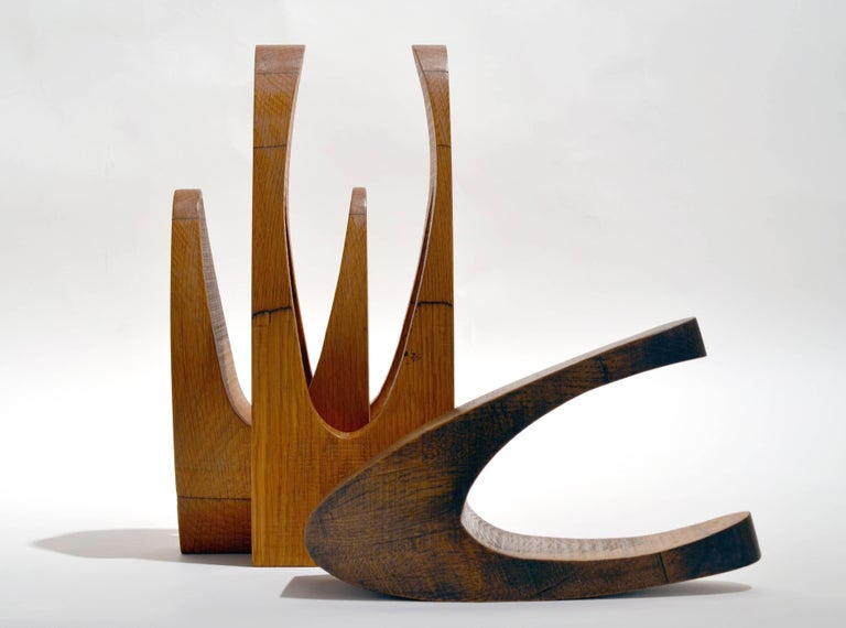 Doris Chase Abstract Sculpture - Interlock