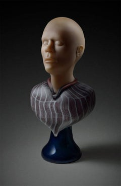 Male Bust with Plinth