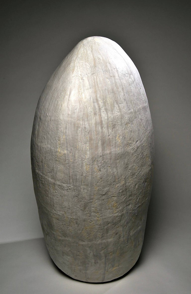 Ann Mallory Abstract Sculpture - Memory Stone #5