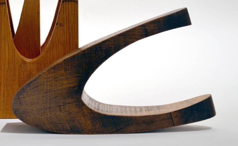Interlock - Abstract Geometric Sculpture by Doris Chase