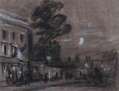 A moonlit London street