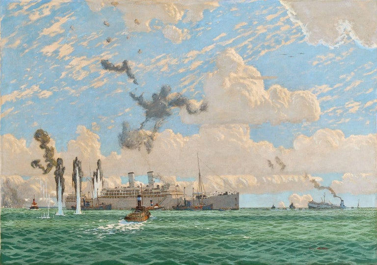 Charles Pears - THE EVACUATION OF ST. NAZAIRE, 17TH JUNE 1940 1