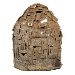 Monumental Raku Ceramic Art Sculpture
