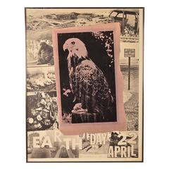 EARTH DAY 1970 Offset Lithograph