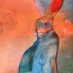 Orange Animal Paintings