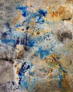 Silver Abstract Paintings