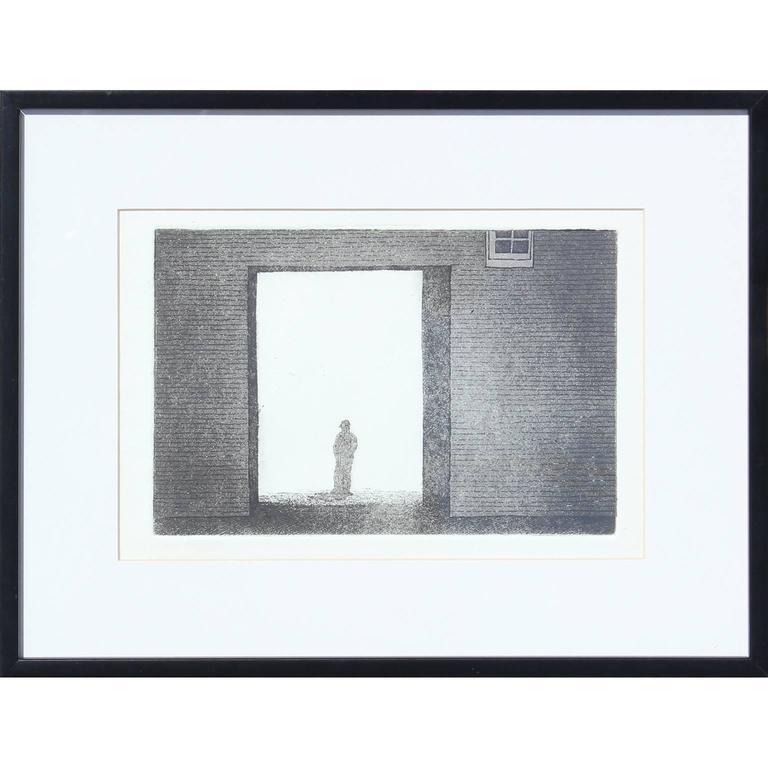 Man in Doorway Photograph or Print