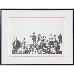 """Early One Morning"" Print in the style of Bansky"