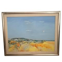 Large William Hoey Abstract Landscape