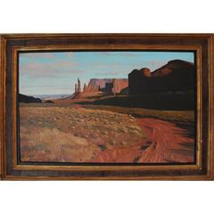 Monument Valley- Totem Pole Landscape Painting